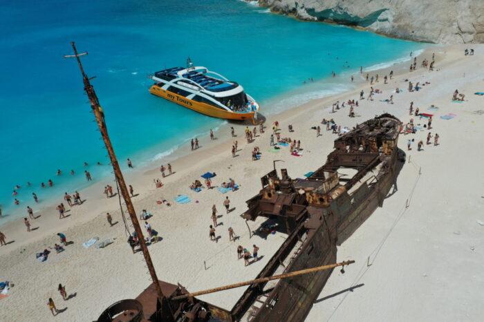 Shipwreck-Blue Caves-Xigia Beach
